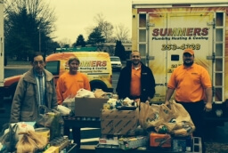 Summers Food Drive