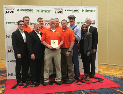 Summers Plumbing Heating & Cooling receives the Circle of Excellence Award