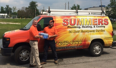 Summers PHC water bottle drive